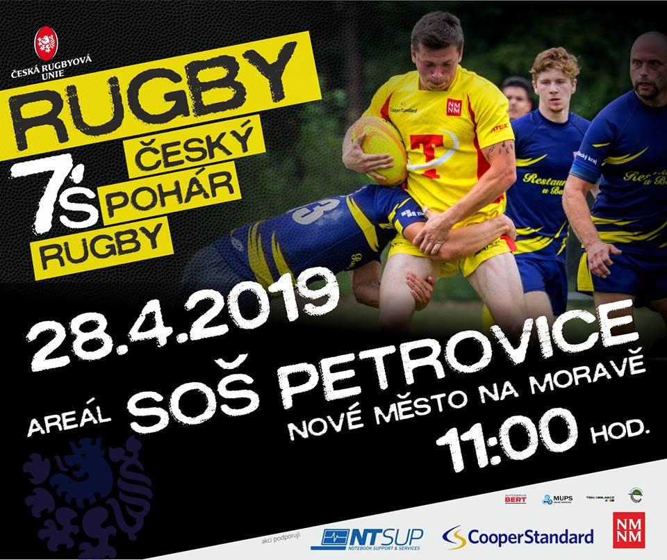 1.turnaj Český pohár 7´s rugby