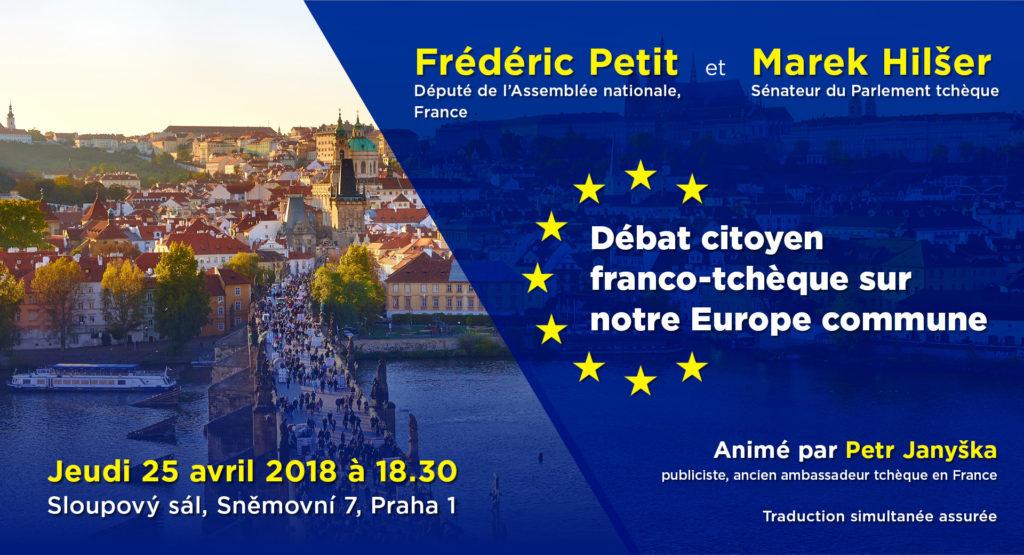 Debata českých a francouzských občanů o společné Evropě