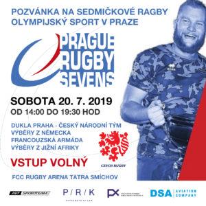 Turnaj v sedmičkovém ragby - RC Tatra Smíchov
